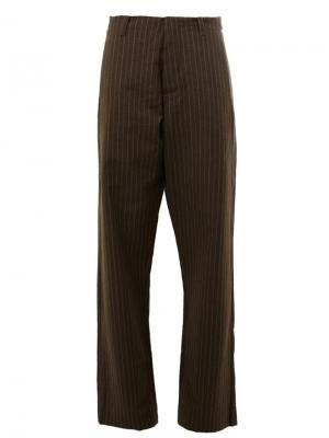 Расклешенные брюки Uma Wang. Цвет: зелёный
