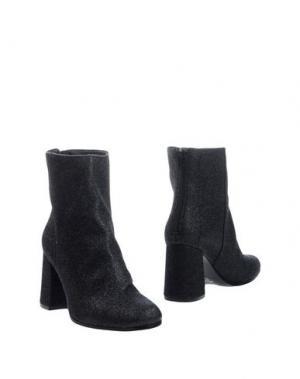 Полусапоги и высокие ботинки ELIANA BUCCI. Цвет: черный