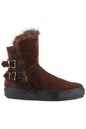 Ботинки Repo. Цвет: темно-коричневый