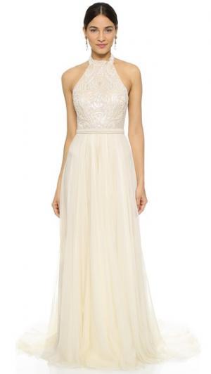 Платье Amelie Catherine Deane. Цвет: устричный/ванильный