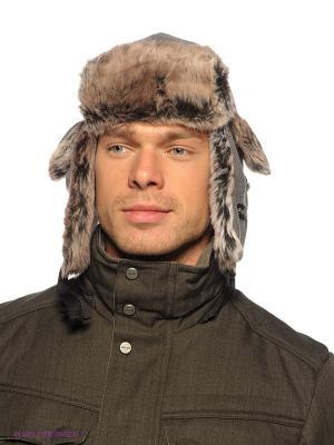 Шапка Viking caps&gloves. Цвет: серый