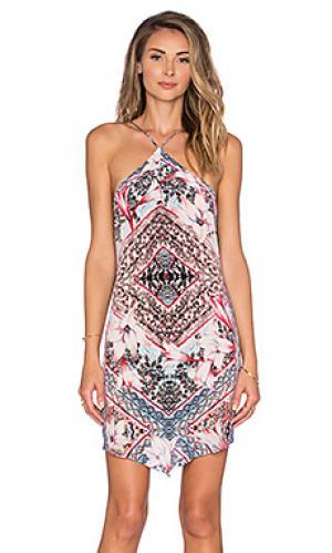 Платье faris Rory Beca. Цвет: розовый