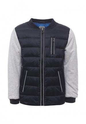 Куртка утепленная Armani Junior. Цвет: синий