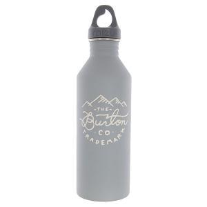 Бутылка для воды  Burton M8 Trademark St Gray Beige Print Mizu. Цвет: серый