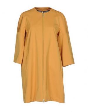 Легкое пальто GEOSPIRIT. Цвет: охра