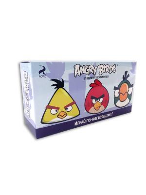 Доп. набор птичек для игры Angry Birds CHERICOLE. Цвет: желтый, зеленый, красный