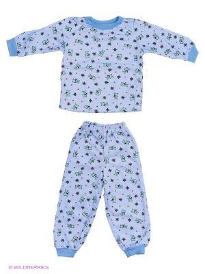 Пижама Babycollection. Цвет: индиго