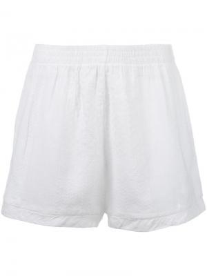Спортивные шорты Cecilie Copenhagen. Цвет: белый