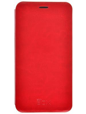 Чехол для Meizu M3 mini skinBOX. Цвет: красный
