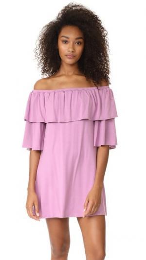 Платье Kylian Rachel Pally. Цвет: фиолетовый