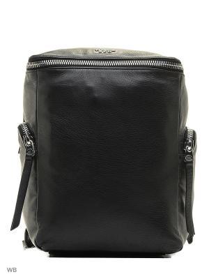 Рюкзак TOSCA BLU. Цвет: черный