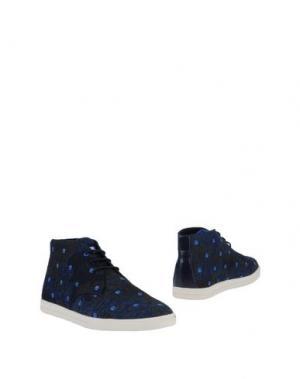 Полусапоги и высокие ботинки CLAE. Цвет: темно-синий