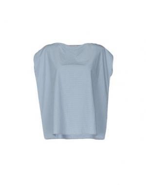 Блузка A.B APUNTOB. Цвет: светло-серый
