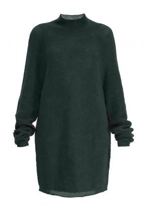Туника из шерсти 153301 Norsoyan. Цвет: зеленый