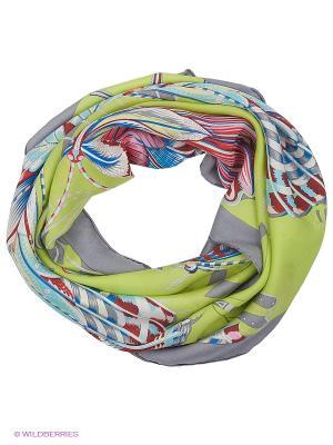Платок Piero. Цвет: салатовый, голубой, серый