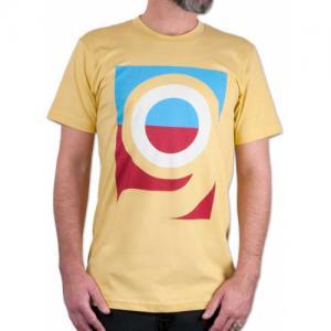 ORANGATANG Logo Organic Cotton T-shirt SS14 YELLOW S. Цвет: yellow