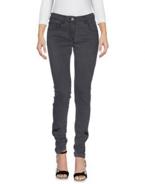 Джинсовые брюки C.R.A.F.T.. Цвет: свинцово-серый