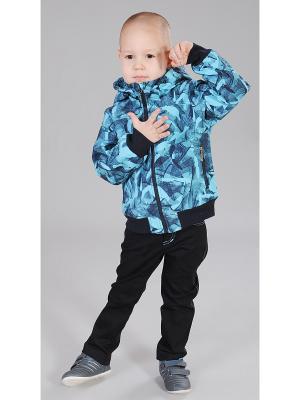 Куртка Милашка Сьюзи. Цвет: темно-синий, голубой