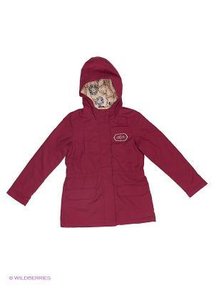 Пальто ROXY. Цвет: розовый