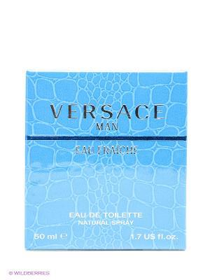 Туалетная вода, 50 мл Versace. Цвет: прозрачный