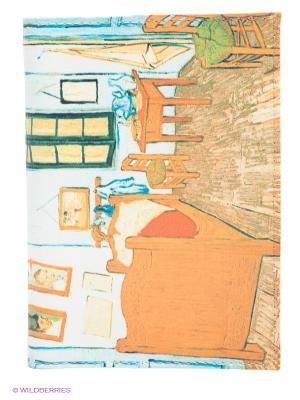 Обложка для паспорта Ван Гог - Спальня в Арле Mitya Veselkov. Цвет: бежевый