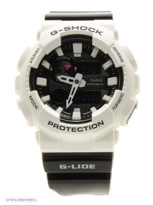 Часы G-Shock GAX-100B-7A CASIO. Цвет: белый, черный