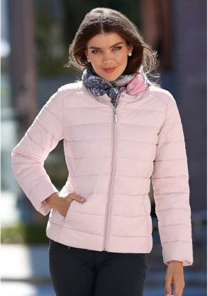 Куртка MY STYLE. Цвет: розовый