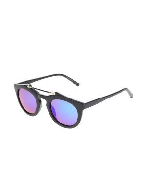 Очки солнцезащитные Gusachi. Цвет: черный, зеленый