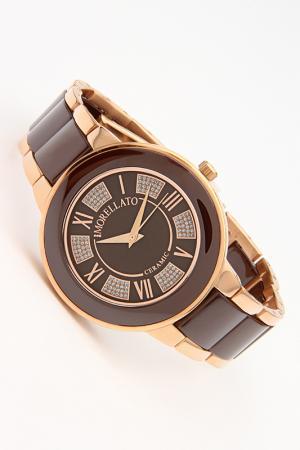 Часы наручные Morellato. Цвет: коричневый