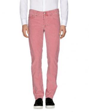 Повседневные брюки PT05. Цвет: коралловый