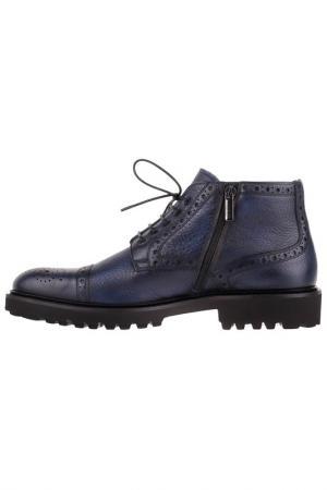 Ботинки Baldinini. Цвет: голубой