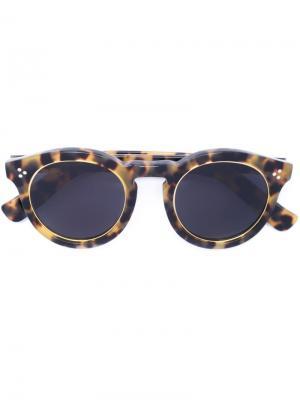 Солнцезащитные очки Leonard II Illesteva. Цвет: коричневый