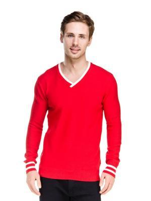 Пуловер VipDressCode. Цвет: оранжевый