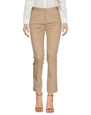 Повседневные брюки ANNIE P.. Цвет: верблюжий