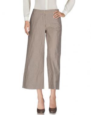 Повседневные брюки DANIELA PANCHERI. Цвет: хаки