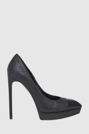 Кожаные туфли Saint Laurent. Цвет: none