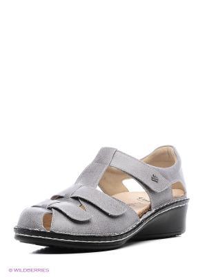 Туфли ортопедические Finn Comfort. Цвет: серый