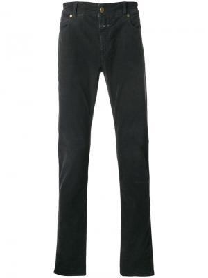 Прямые джинсы Closed. Цвет: серый