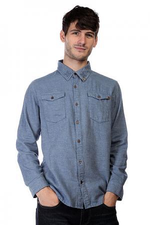 Рубашка  Gusto Unjaded Insight. Цвет: синий
