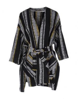 Легкое пальто NINEMINUTES. Цвет: черный