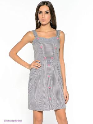 Платье Compania Fantastica. Цвет: черный, белый
