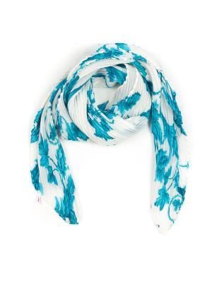 Платок Pretty Mania. Цвет: белый, голубой