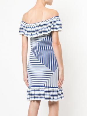 Платье-мини Corsica Rebecca Vallance. Цвет: белый