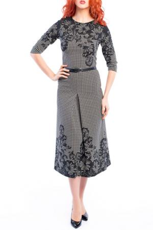 Платье MoNaMod. Цвет: черный