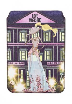 Чехол для iPad Love Moschino. Цвет: черный