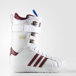 Сноубордические ботинки Superstar ADV  Originals adidas. Цвет: белый