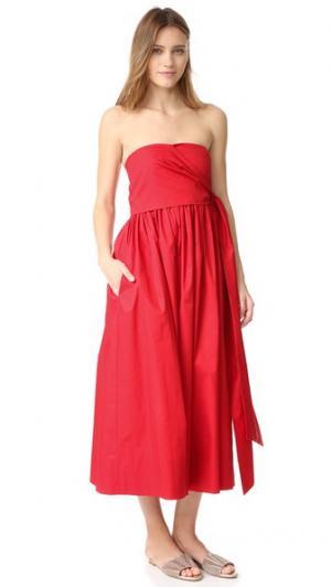 Платье Lindley Jill Stuart. Цвет: губная помада