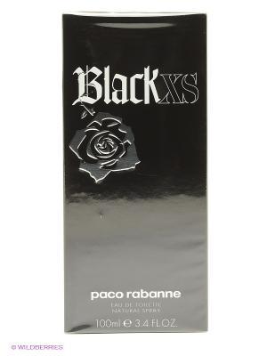Paco Rabanne Black XS М Товар Туалетная вода-спрей 100 мл. Цвет: прозрачный