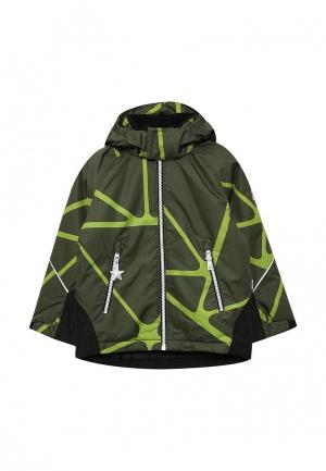 Куртка утепленная Reima. Цвет: хаки