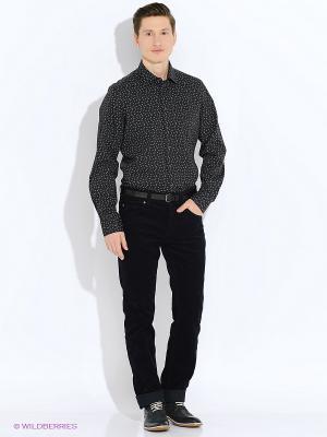 Рубашка LERROS. Цвет: черный, голубой, коричневый